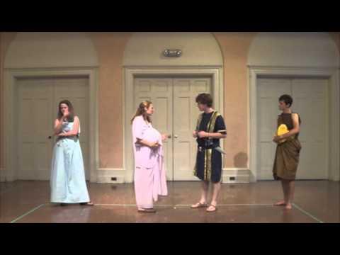 Scenes from Plautus' Amphitryo