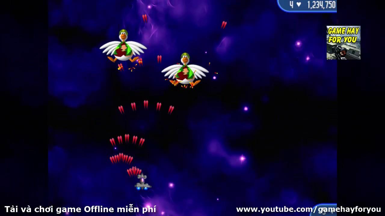 Play game Chicken Invaders 2 – Tải và chơi game Bắn gà 2 miễn phí trên máy tính