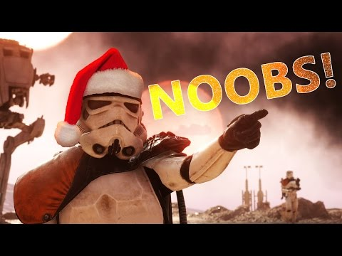 Star Wars Battlefront: First 2017 Stream! w/ Face reveal at the end!