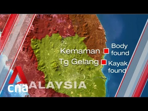 Missing Singaporean kayakers: Woman's body found in waters off Terengganu