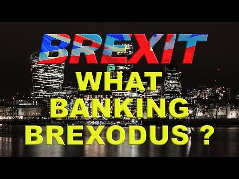 There will be no City Exodus Post Brexit