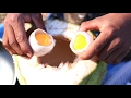 Coconut Egg - How To Cook Egg In Green Coconut - Countryside Food