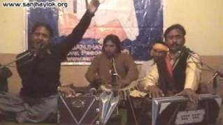 Birthday of GURU RAVIDASS JI Celebration 1st Time in Pakistan by Sanjhay Lok, 4.Singers Habib Rafiq