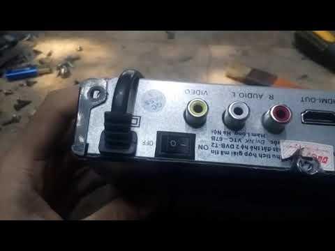 Bên trong đầu thu VTC-T201