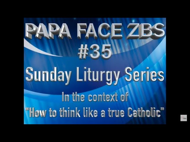 Face ZBS for the First Sunday of Lent 2021