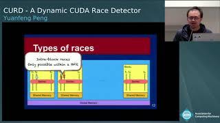 CURD: A Dynamic CUDA Race Detector