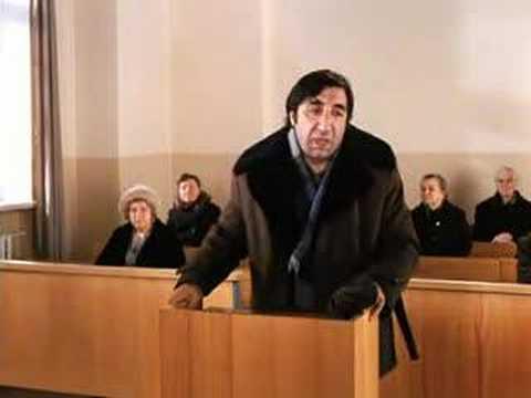 Mimino - Sud, trial scene