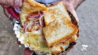 BREAD TIKKI PIECE AND SAUNT PANI PURI in SABZI MANDI DELHI | INDIAN STREET FOOD