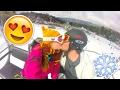 BOYFRIEND'S SURPRISE BIRTHDAY SKI TRIP!! SNOW DAY + BIG BEAR SNOWBOARDING!