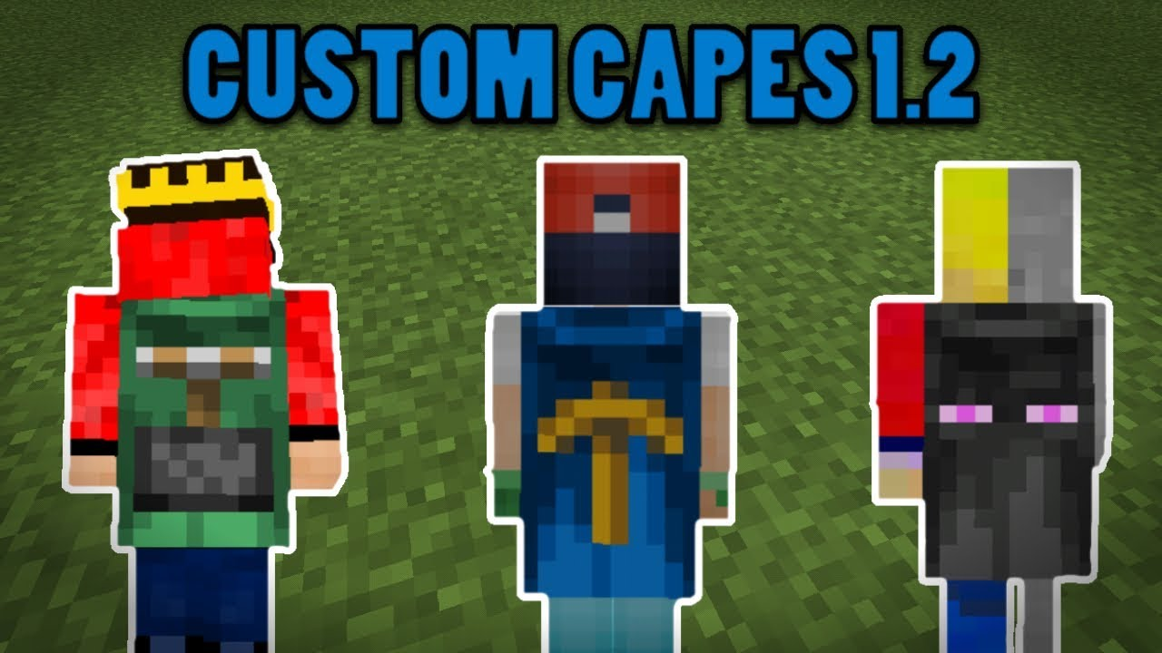 ✓How to capes on your own custom skin ! - Minecraft 8.8 Tutorial