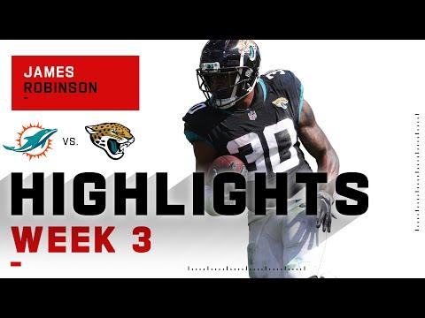 [Highlight] James Robinson week 3: 129 total yards & 2 touchdowns