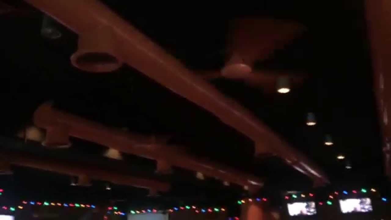 10 KDK Industrial Ceiling Fans At Hooters Dominican
