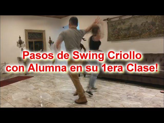 Clase de Swing Criollo (pasos)