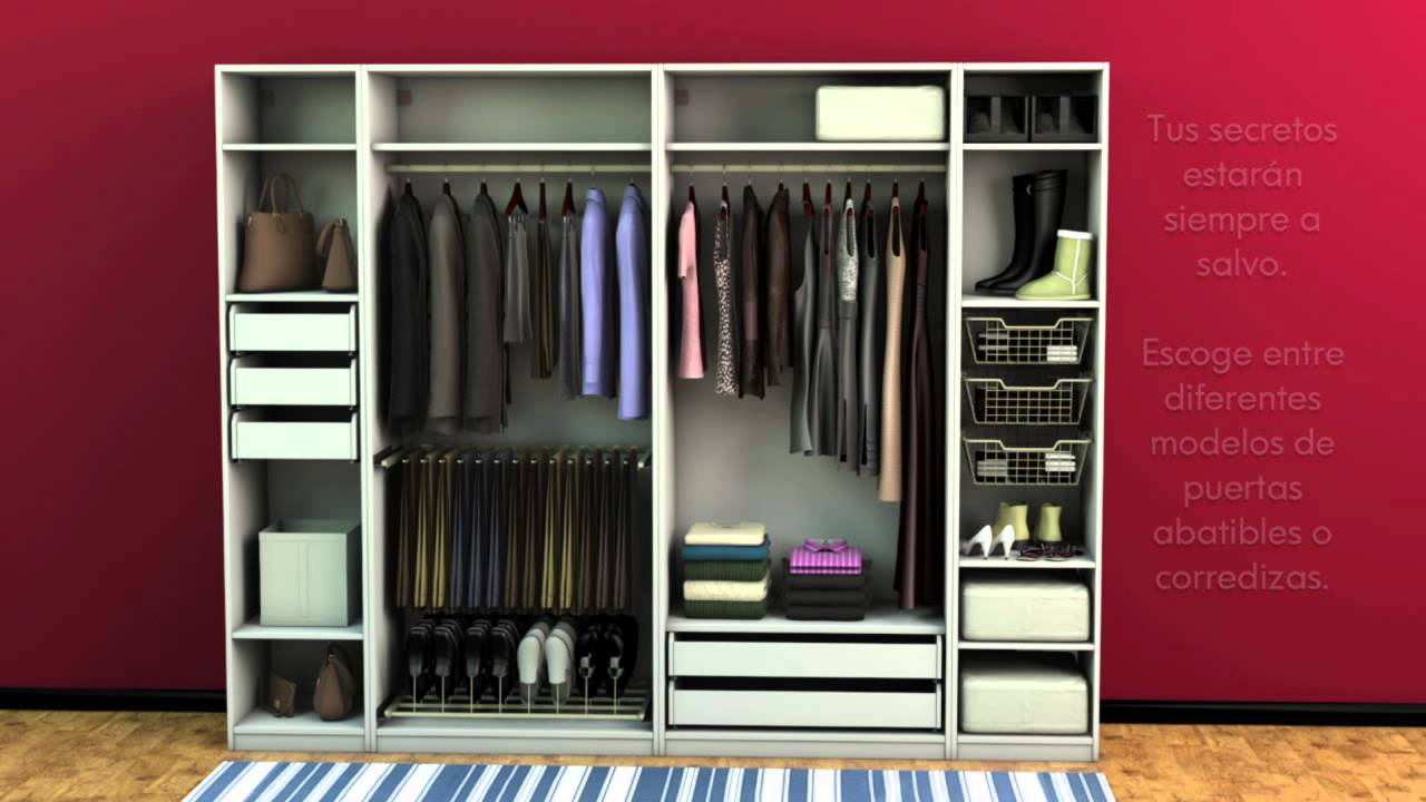 Un cl set donde cabe todo youtube for Modelos de zapateras en closet