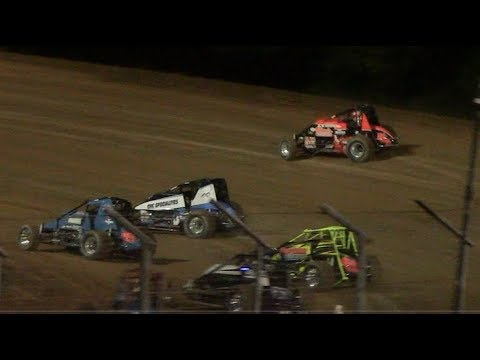 RUSH Non-Wing Sprint Car Feature | Lernerville Speedway | 6/28/19