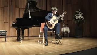 Jacob Pope performs Gran Jota by Tarrega on a Sylvia Double Cedar Top Guitar