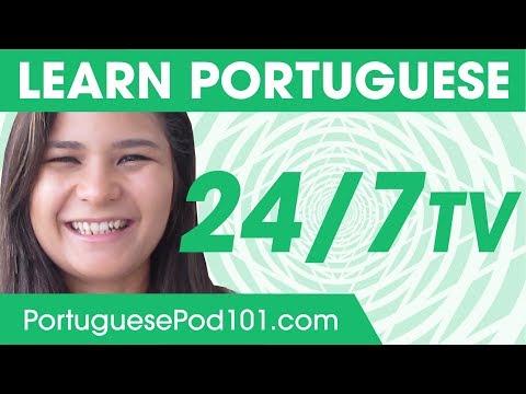 Learn Portuguese 247 with PortuguesePod101 TV