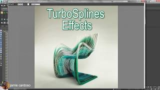 TurboSplines with 3ds Max & V-Ray (CC)