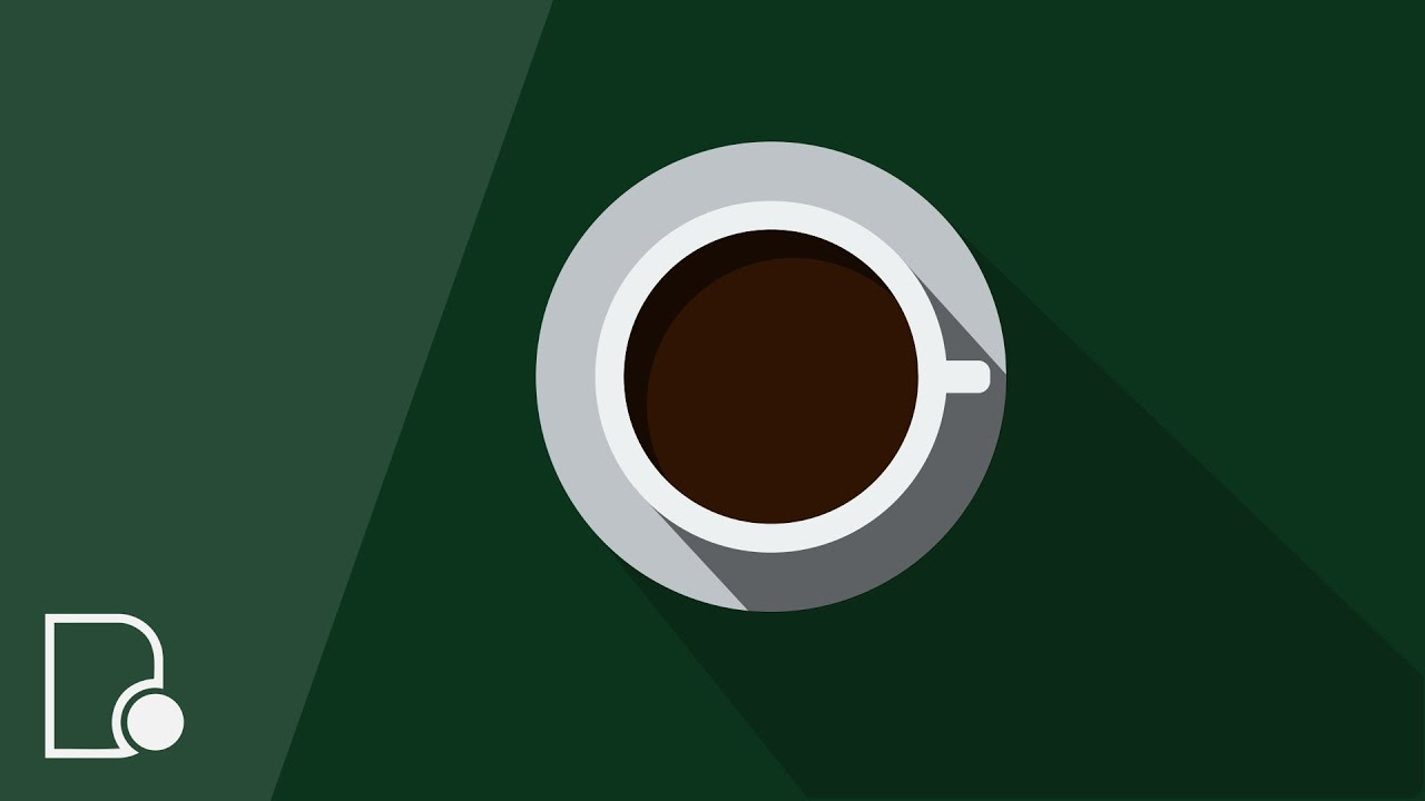 Flat Design Coffee Wallpaper The Image