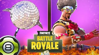 "🔴BACK of THE SKIN ""FUNKY SOLDIER""! ON FORTNITE BATTLE ROYALE🔴"