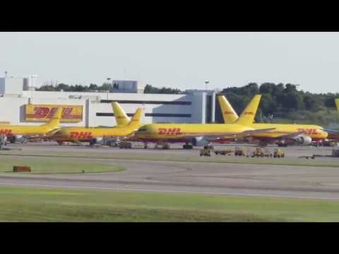 DHL Cargo Center at CVG - July 7, 2018