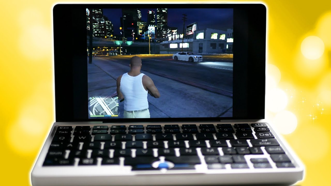 GTA V NA MINI LAPTOPIE? GPD POCKET