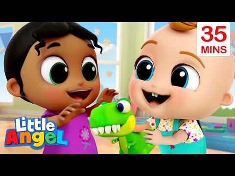 Sharing Is Caring + More Little Angel Kids Songs & Nursery Rhymes