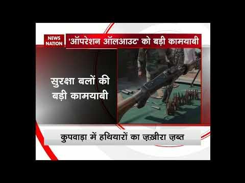 J&K: Army busts terrorist hideout in Handwara; seizes huge cache of arms, ammunition