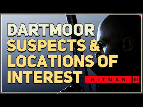 Question suspects and search locations of interest Hitman 3