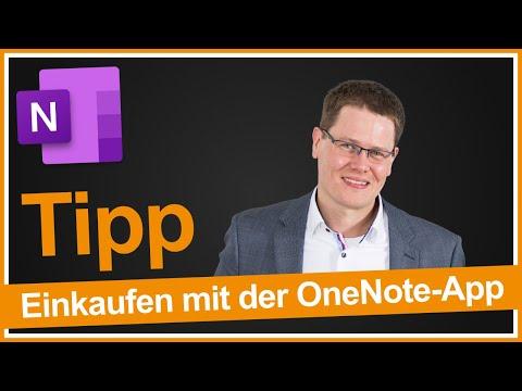 Life Hack: Einkaufsliste in OneNote schreiben (iPhone)
