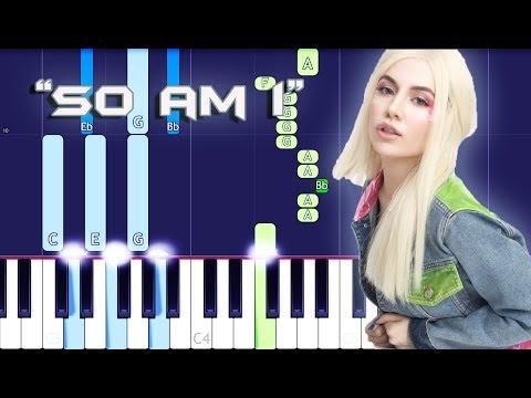 So Am I Piano Cover