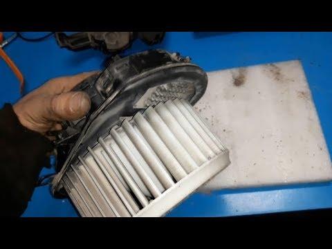 VW Tiguan blower fan not working /VW Blower motor resistor location