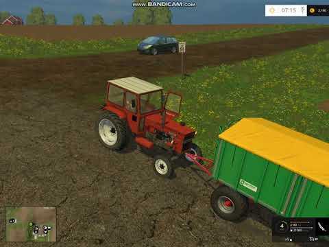 Farming Simulator 2015 UTB în acțiune