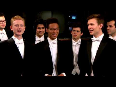 The Whiffenpoofs of 2016 at CBS News