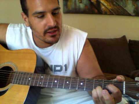 How to play the D Chord on an Acoustic Guitar - YouTube