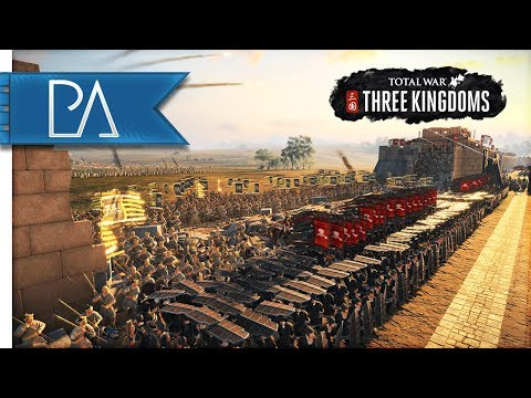 MASSIVE SIEGE BATTLE FOR CHINA  Total War: Three Kingdoms