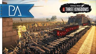 MASSIVE SIEGE BATTLE FOR CHINA - Total War: Three Kingdoms