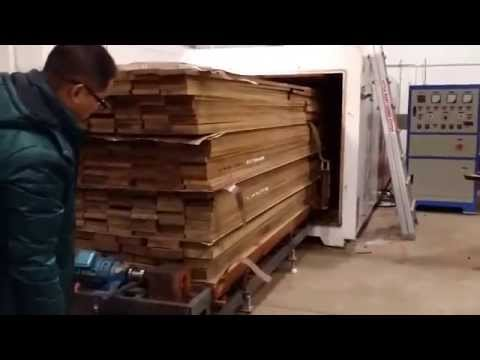 Electric Lumber Vacuum Dryer
