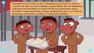 La Paz De Nelson Mandela Historia Cuentos Para Niños Youtube