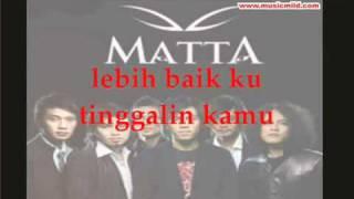 Matta Jambu Janji Janjimu busuk Lirik flv