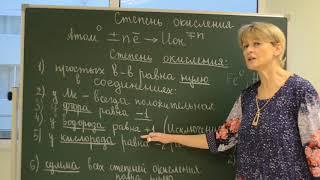 """Урок химии 8 класс """"Степень окисления"""" (урок Швецовой Елены Евгеньевны)"""