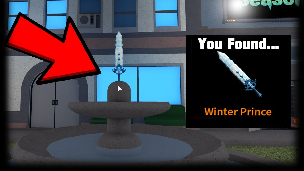 Download THE SECRET EXOTIC KNIFE IN THE LOBBY FOUNTAIN... (ROBLOX ASSASSIN)