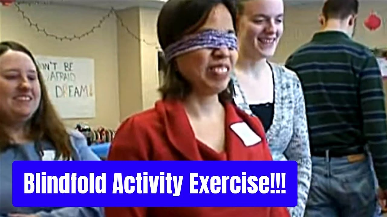 Blindfold Activity With Lesson About Your Faith (FUNNY & POWERFUL!)