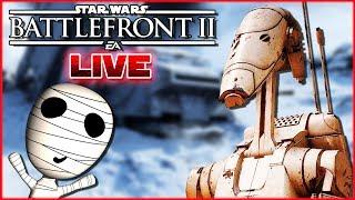 Roger Roger!🤖 🔴 Star Wars: Battlefront 2 // PS4 Livestream