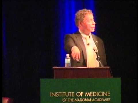 Seth Berkley at the Institute of Medicine