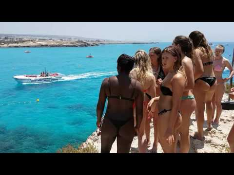 Nissi beach Cyprus 2017
