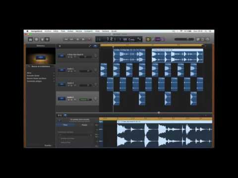 Cómo usar GarageBand: Edición de audio (cortar, desplazar, pegar, fade in/out)