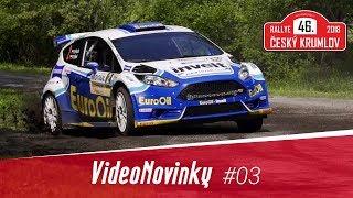 46. Rallye Český Krumlov 2018 - průjezdy a rozhovory po RZ 9