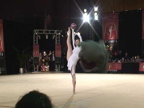 Anna Bessonova LA Lights 2009  Rhythmic Gymnastics 新体操エキシビション(2)