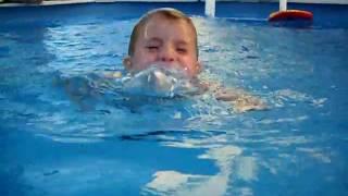 AJ Swimming for Grandma